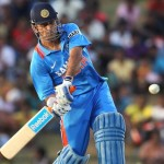 M S Dhoni 'Man of The Match'