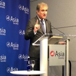 FOREIGN MINISTER, MAKHDOOM SHAH MAHMOOD QURESHI ADDRESSING THE ASIA SOCIETY ON THE SIDELINES OF UNITED NATIONS GENERAL ASSEMBLY SESSION IN NEW YORK .