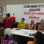 Harminder kaur reciting her poem in cwca meeting-oct,2018.resized