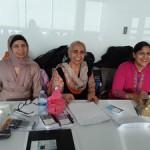 Lilita singh, Dr Balwinder brar and Gurdish Kaur Grewal- on the stage.resized