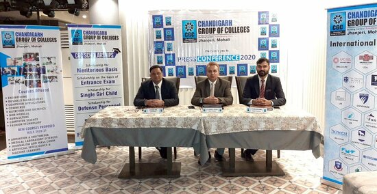 Chandigarh Group of Colleges, Jhanjeri is going to launched new courses with a view to meet growing need of the students & the society 1.resized
