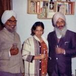 Dr. Harbhajan Singh with Amrita Pritam & Tara Singh Kamal.resized